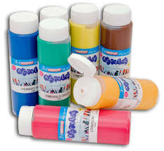 Paint by Discount Acrylic Paint In 500ml Squeezy Bottles