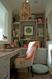 Built In Bookshelves With Desk by Chic First Floor Home Office Features Floor To Ceiling White Built