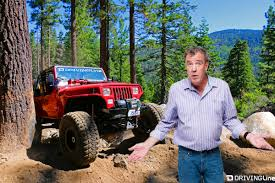 jeep rubicon trail clarkson drives the rubicon trail drivingline