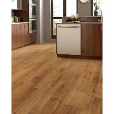 Laminate Flooring Hand Scraped Mohawk Bright Maple 2 Strip 8 Mm Thick X 7 1 2 In Wide X 47 1 4