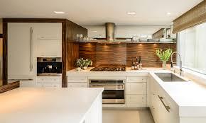 designer kitchen handles kitchen style white flat cabinets wooden backsplash undermount