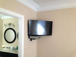 Wall Tv Stands Corner Shelves Creative Shelf Tv Swivel Wall Mount With Shelf For Cable