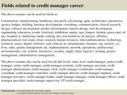 credit executive cover letter