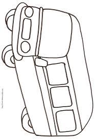 30 dessins de coloriage bus enfant à imprimer