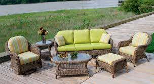 Outdoor Lanai by White Wicker Patio Furniture Clearance Patio Decoration