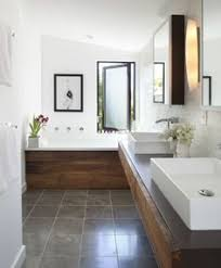 Great Layout For A Narrow Space Bathrooms Pinterest Spaces - Narrow bathroom design