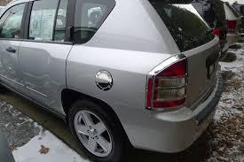 gas cap light jeep jeep compass chrome fuel door gas cap cover petro trim