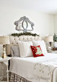 Easy Ways To Decorate Your Bedroom For Christmas Savvy Southern Style December 2014