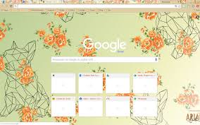 chrome themes cute chrome web store a splash of color