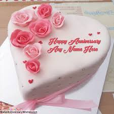 wedding cake name free wedding anniversary cakes images with your name lala s