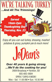 nov thanksgiving dinner ad2 journal ad vault