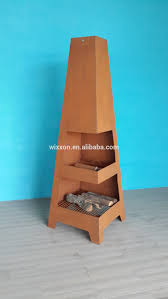outdoor steel fireplace chimney with rust color buy outdoor