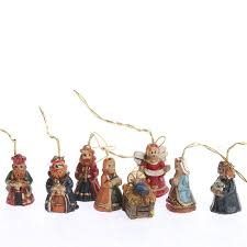 miniature nativity ornaments ornaments and