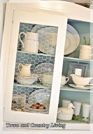 Replacement Glass For Kitchen Cabinet Doors Replacing Glass In A Cabinet With Chicken Wire Chicken Wire