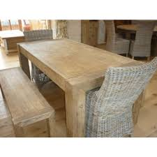 Sustainable Dining Table Reclaimed Elm Chunky Style 2m Luxury Dining Table Sustainable