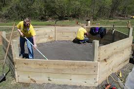 Backyard Foam Pit How To Build A Gaga Pit Kaboom