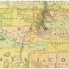 Albuquerque New Mexico Map by Map New Mexico 1891 Original Art Antique Maps U0026 Prints