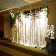 wedding backdrop fairy lights fairy lights backdrop for weddings design craft