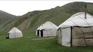 tende yurta yurte kyrgyzstan le tende dei nomadi