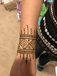 simple wrist tattoo my henna tattoos creations pinterest