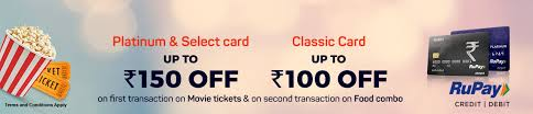 bookmyshow dhule rupay weekends movie ticket offer bookmyshow