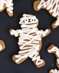 halloween gingerbread mummy cookies u2022 kellie