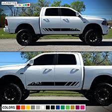 dodge ram decals canada 2x decal sticker graphic side mountain stripes compatible with