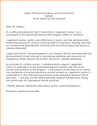 Sample Letter Of Recommendation From Teacher 9 Examples Of Recommendation Letters Quote Templates