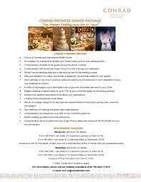 amazing of wedding planner services list conrad centennial hotel