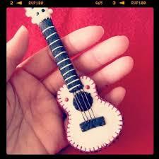 miniature knit cloth ukulele ukulele