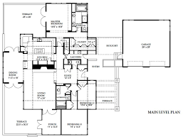 Prairie House Plans Prairie Style House Plan 3 Beds 2 50 Baths 3600 Sq Ft Plan 454 11
