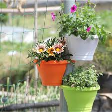 tub drain pipe flower plant hanging pot basket garden planter image is loading tub drain pipe flower plant hanging pot basket