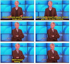 Ellen Degeneres Meme - ellen degeneres on women in foreign policy