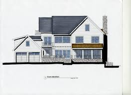 Farmhouse Elevations by Architect Portfolio By Architecture Joyce Owens Genuine Historic
