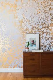 metallic wallpaper u2014 the berkshire house