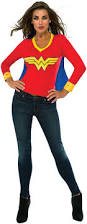 Halloween Costume Birthday Party by Dc Comics Wonder Woman Sporty Tee Costume T Shirt Wonder