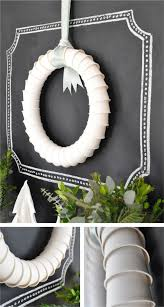 How To Make Christmas Decorations At Home Easy How To Make Paper Wreaths Handmade Craft Home Décor Ideas