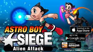 astro boy siege alien attack