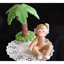 monkey cake topper baby monkey cake topper monkey shower party decoration jungle