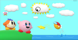 kirby u0027s 3d dreamland made in ms paint 3d kirby