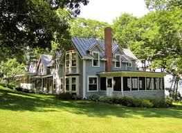 creative maine cottages for sale waterfront decor color ideas