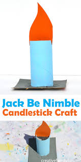 jack be nimble candlestick craft creative family fun