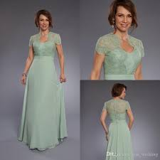 light green dress with sleeves light green mother of the bride dresses lace short sleeves long