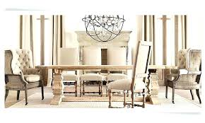 Furniture Dining Room Chairs Restoration Hardware Look Alike Dining Table Restoration Hardware