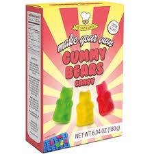 make your own gummy bears mr candy baker make your own gummy bears kit gummy mix and