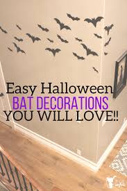 easy halloween bat decorations you will love