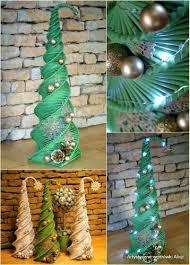 stromček nadal pinterest craft newspaper and christmas decor