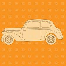 Old Classic Cars - old classic car vector image 1793 u2013 rfclipart
