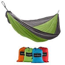 homeeco single camping hammock lightweight and durable hammocks