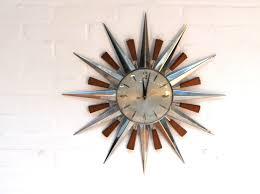 vintage mid century wall clocks wall clocks decoration